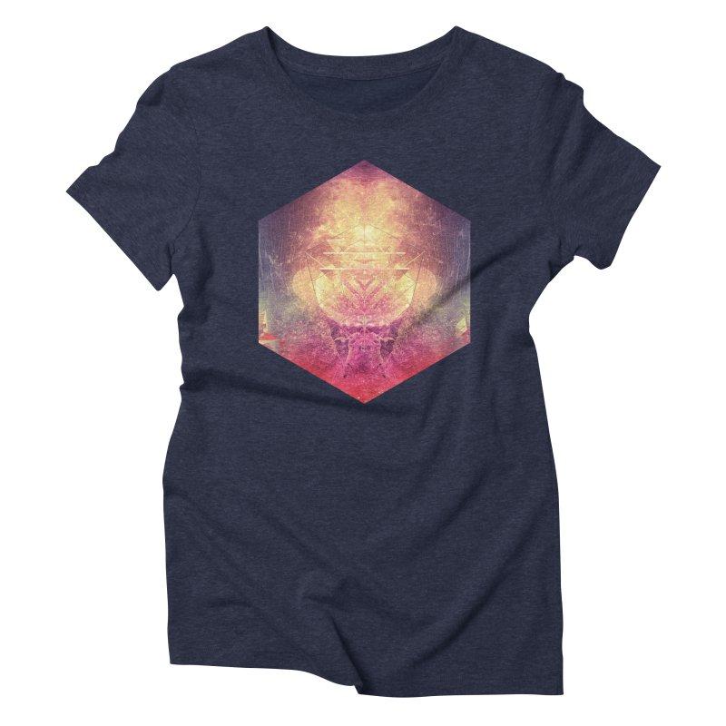 shryyn yf lyys Women's Triblend T-shirt by Spires Artist Shop