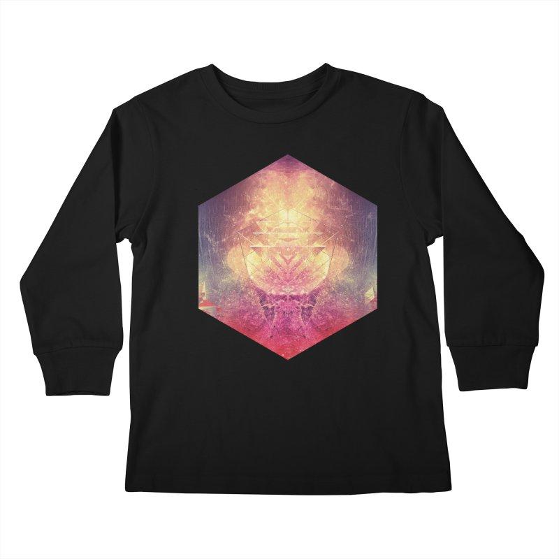 shryyn yf lyys Kids Longsleeve T-Shirt by Spires Artist Shop