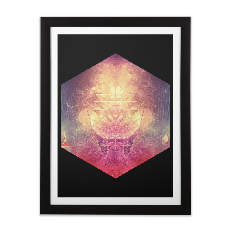 shryyn yf lyys Home Framed Fine Art Print by Spires Artist Shop