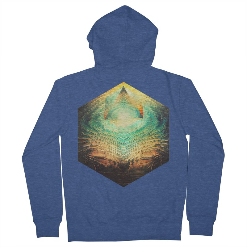 kryypynng dyyth Men's Zip-Up Hoody by Spires Artist Shop
