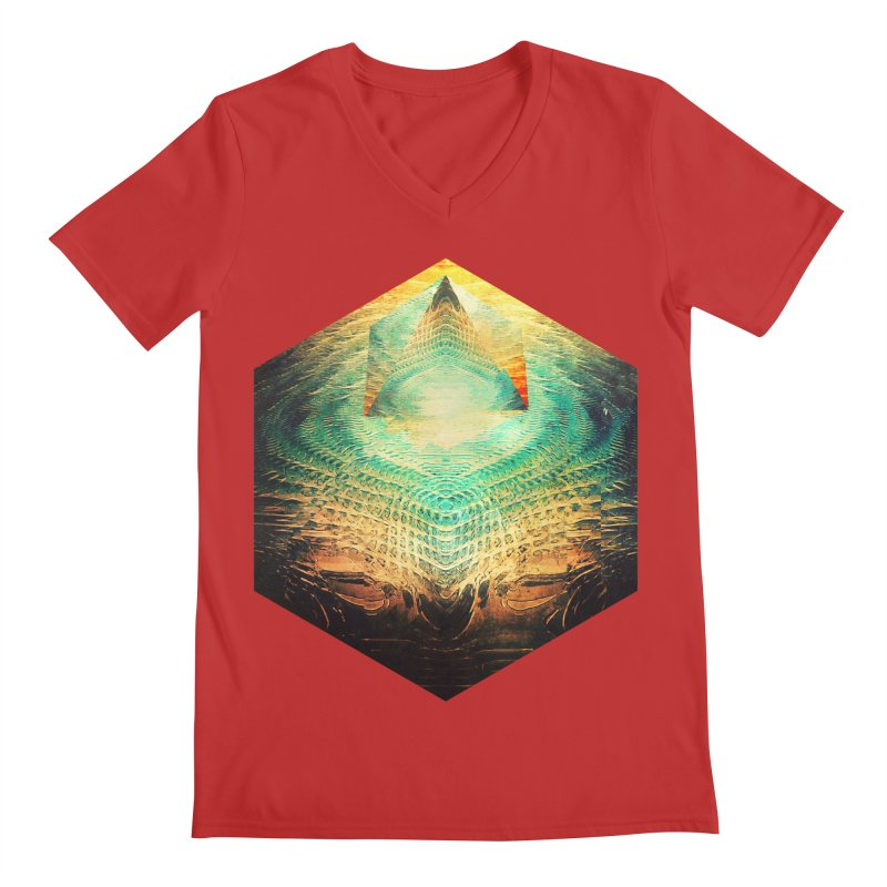 kryypynng dyyth Men's V-Neck by Spires Artist Shop
