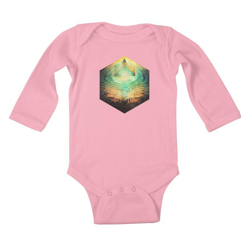 kryypynng dyyth Kids Baby Longsleeve Bodysuit by Spires Artist Shop