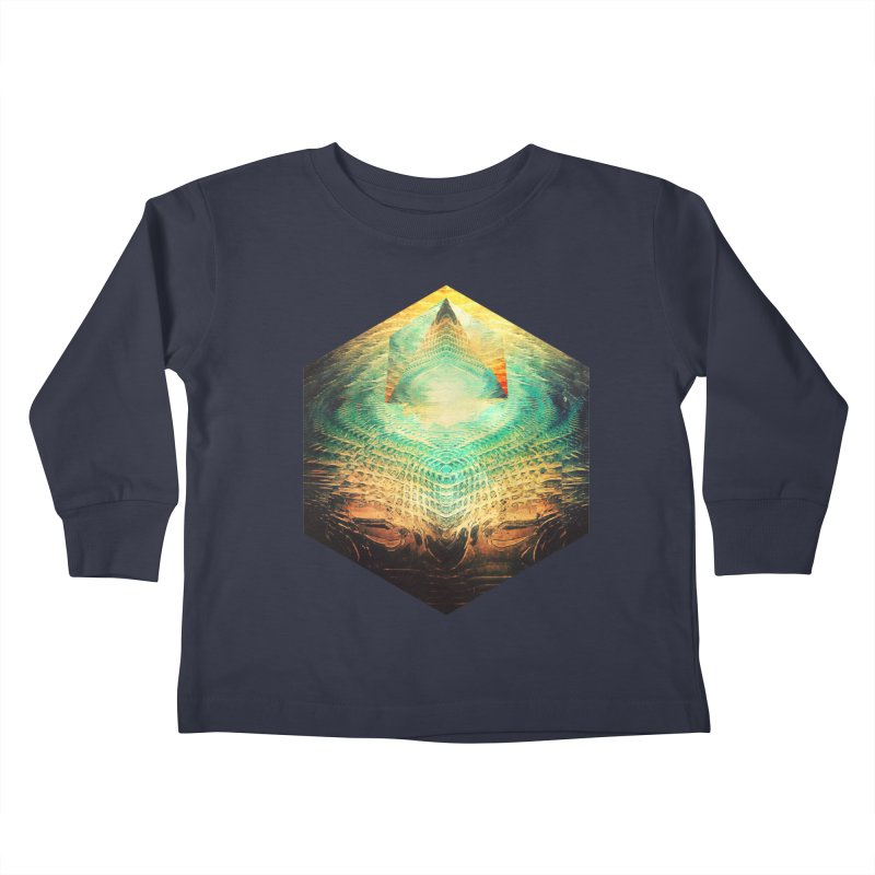 kryypynng dyyth Kids Toddler Longsleeve T-Shirt by Spires Artist Shop