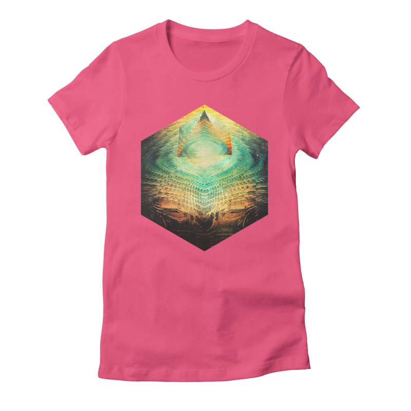 kryypynng dyyth Women's Fitted T-Shirt by Spires Artist Shop