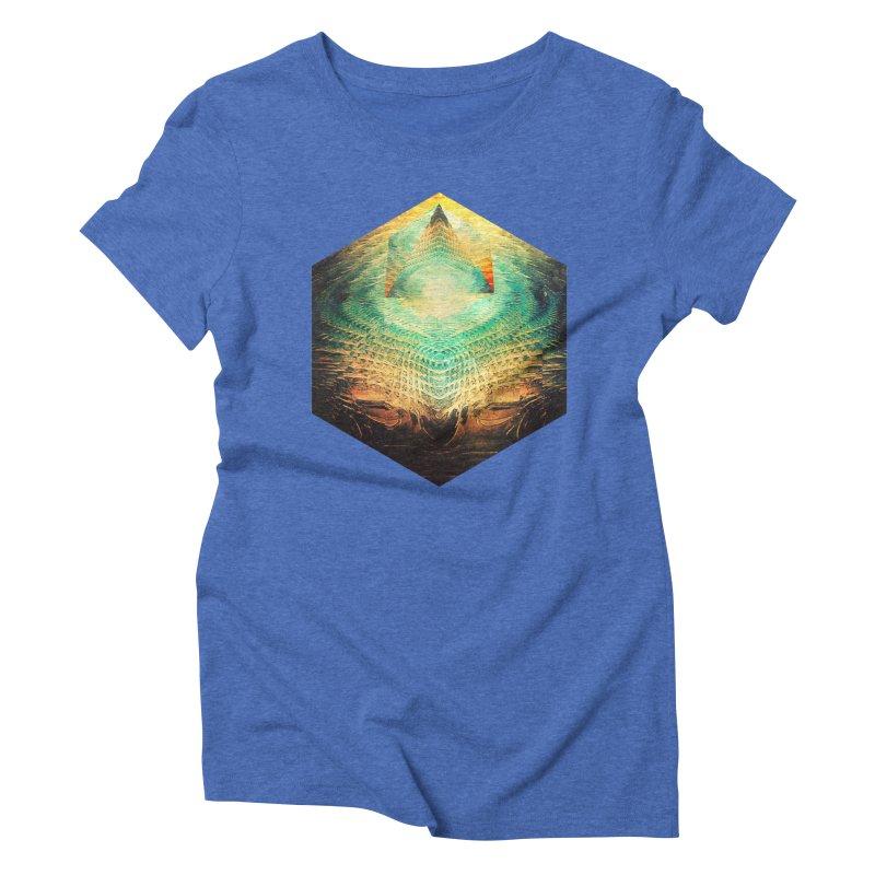 kryypynng dyyth Women's Triblend T-shirt by Spires Artist Shop