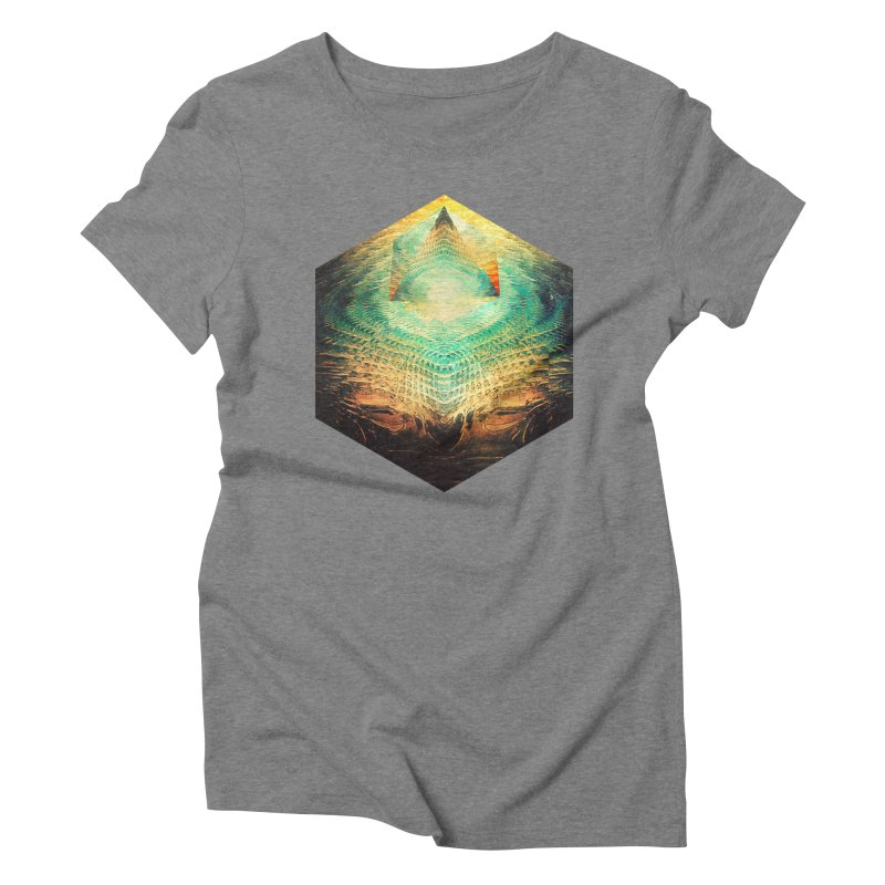 kryypynng dyyth Women's Triblend T-Shirt by Spires Artist Shop