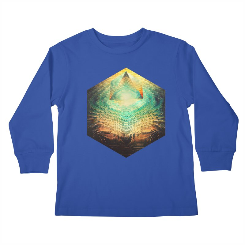 kryypynng dyyth Kids Longsleeve T-Shirt by Spires Artist Shop