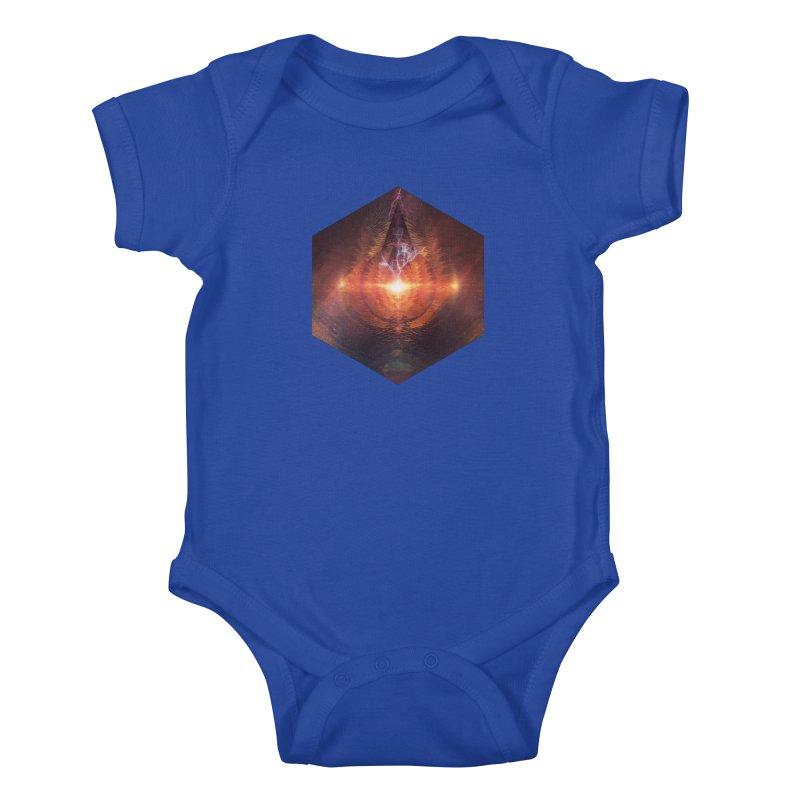 Ntyrstyllyr Swwryn Kids Baby Bodysuit by Spires Artist Shop