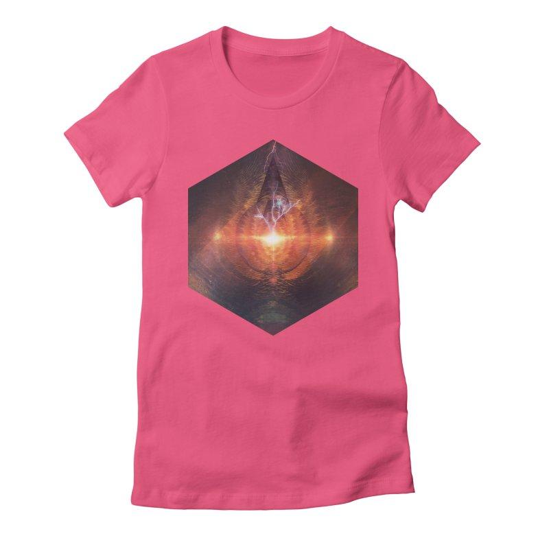 Ntyrstyllyr Swwryn Women's Fitted T-Shirt by Spires Artist Shop