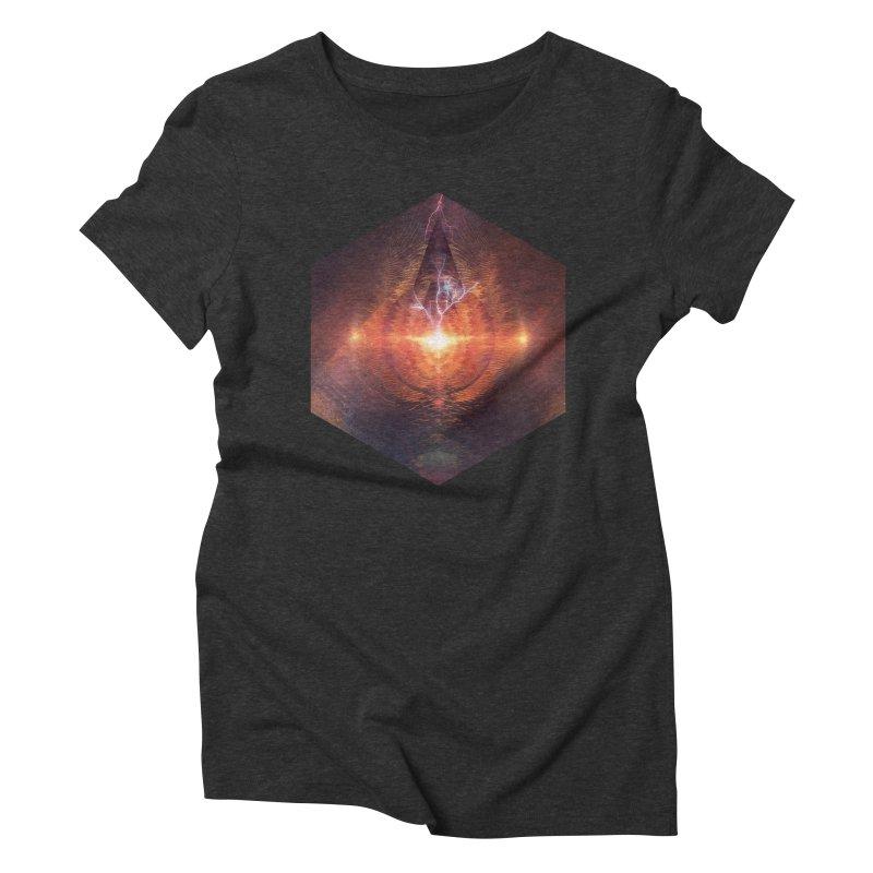 Ntyrstyllyr Swwryn in Women's Triblend T-shirt Heather Onyx by Spires Artist Shop