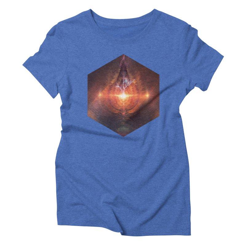 Ntyrstyllyr Swwryn Women's Triblend T-shirt by Spires Artist Shop