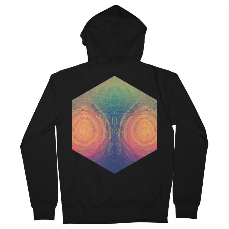 th' hyrryr Men's Zip-Up Hoody by Spires Artist Shop