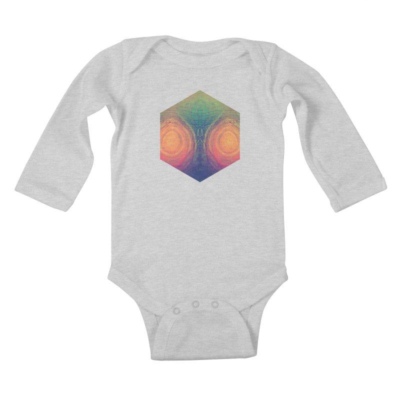 th' hyrryr Kids Baby Longsleeve Bodysuit by Spires Artist Shop