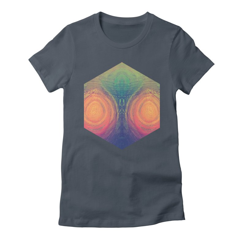 th' hyrryr Women's Fitted T-Shirt by Spires Artist Shop