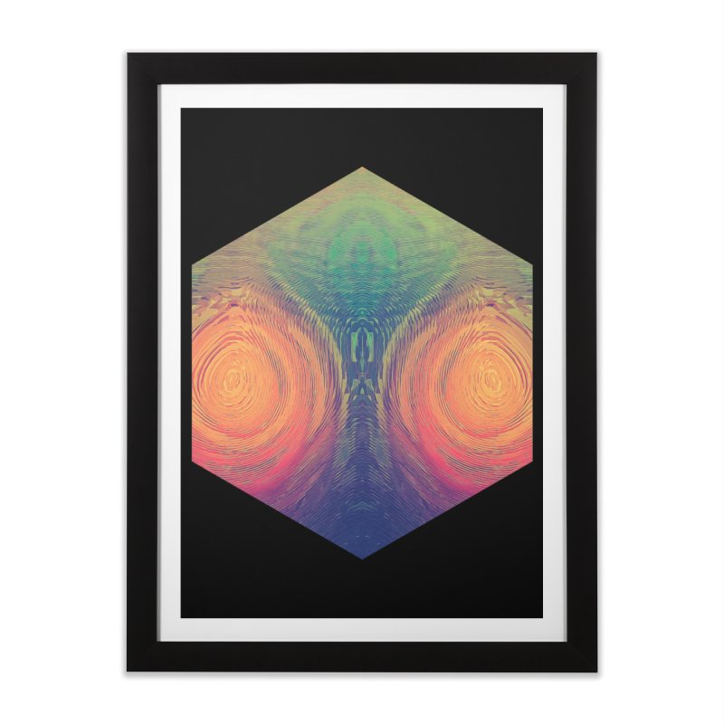 th' hyrryr Home Framed Fine Art Print by Spires Artist Shop