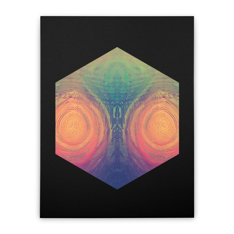 th' hyrryr Home Stretched Canvas by Spires Artist Shop