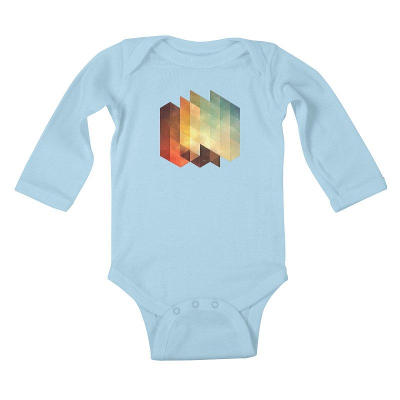 lyyt lyyf Kids Baby Longsleeve Bodysuit by Spires Artist Shop