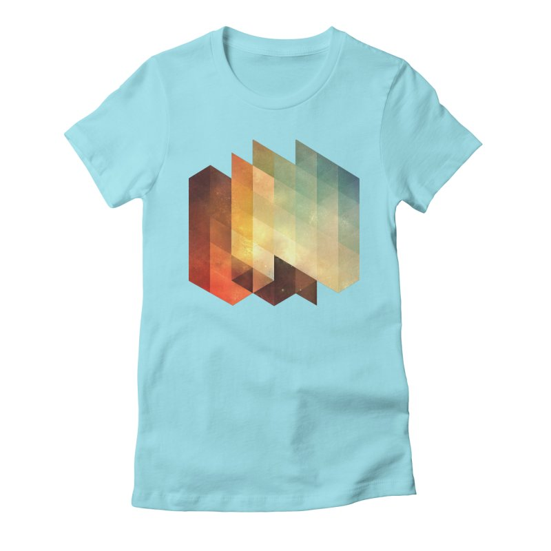 lyyt lyyf Women's Fitted T-Shirt by Spires Artist Shop