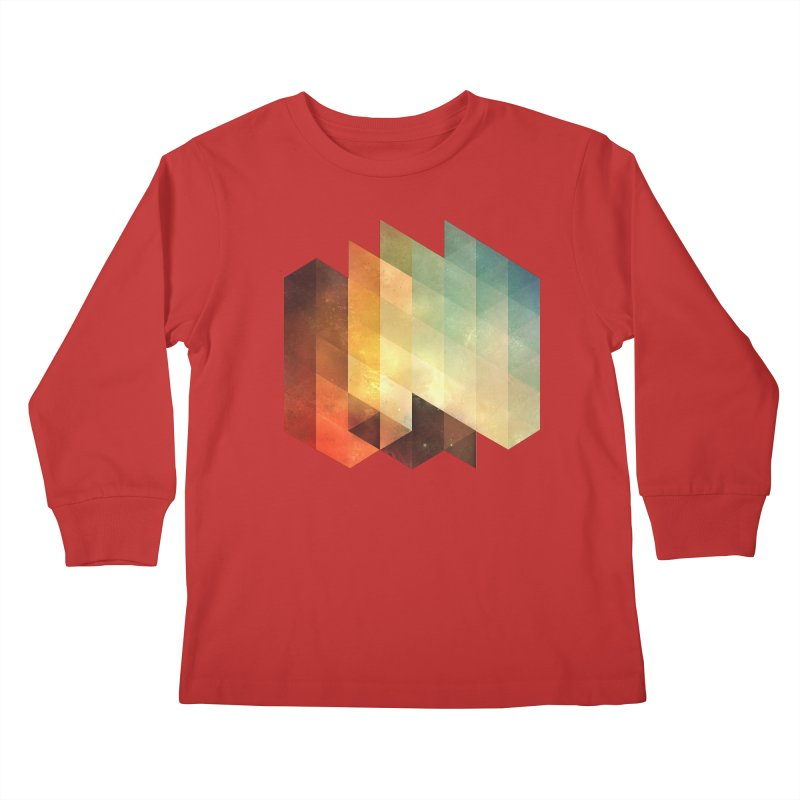 lyyt lyyf Kids Longsleeve T-Shirt by Spires Artist Shop