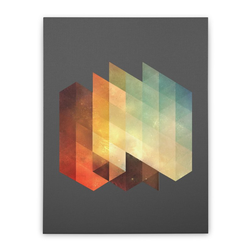 lyyt lyyf Home Stretched Canvas by Spires Artist Shop