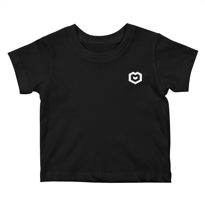 Isometric Heart Small Kids Baby T-Shirt by Spires Artist Shop