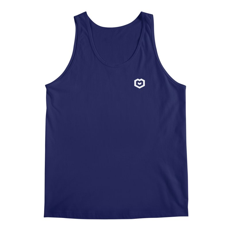 Isometric Heart Small Men's Tank by Spires Artist Shop