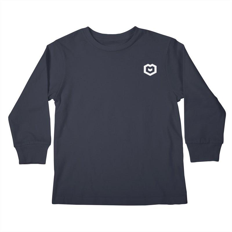 Isometric Heart Small Kids Longsleeve T-Shirt by Spires Artist Shop