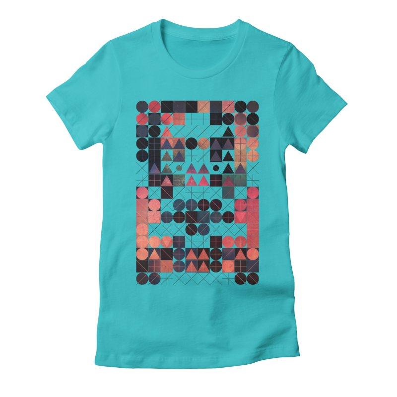 shww thyrww Women's Fitted T-Shirt by Spires Artist Shop