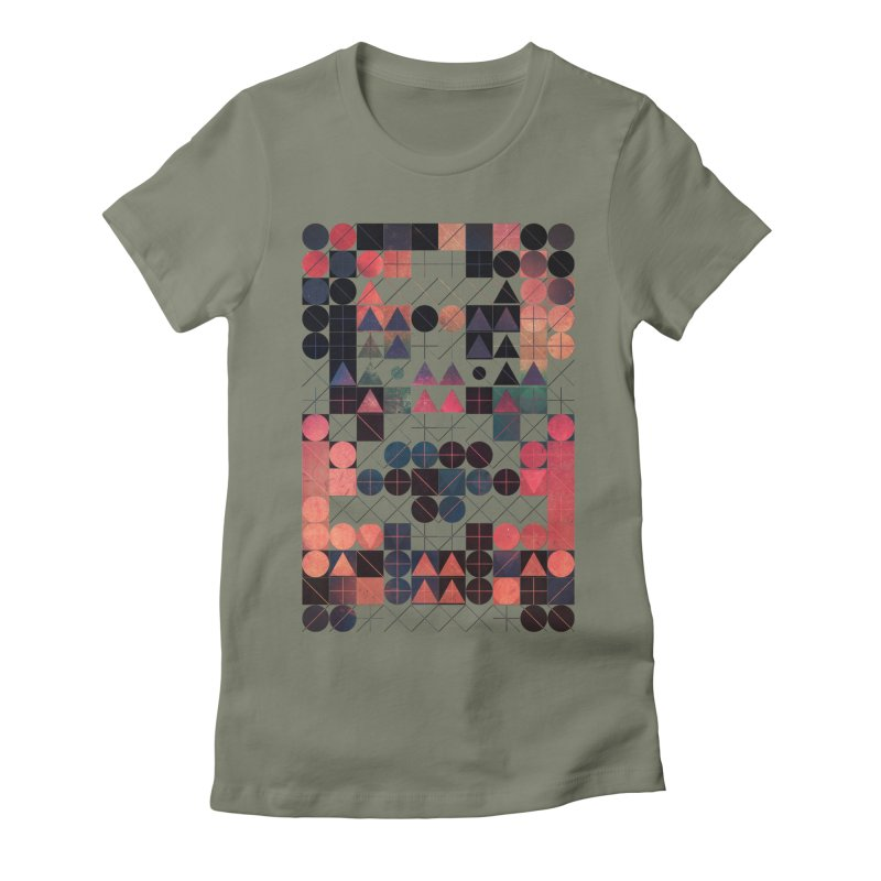 shww thyrww Women's Fitted T-Shirt by Spires Artist Shop