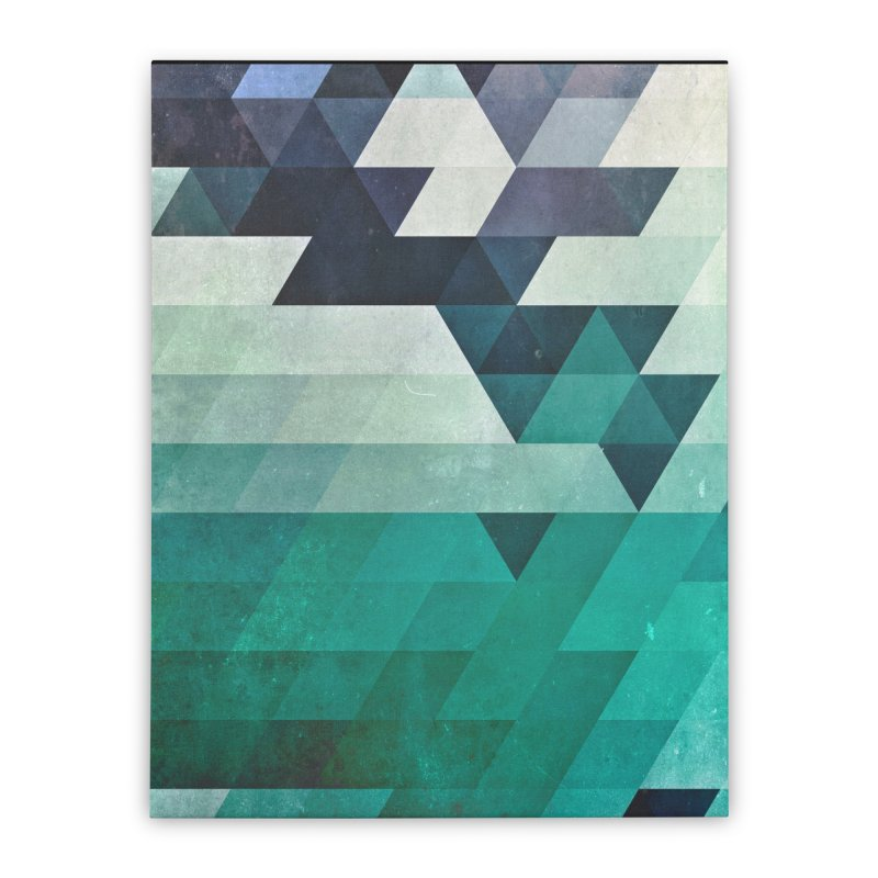 aqww hyx Home Stretched Canvas by Spires Artist Shop