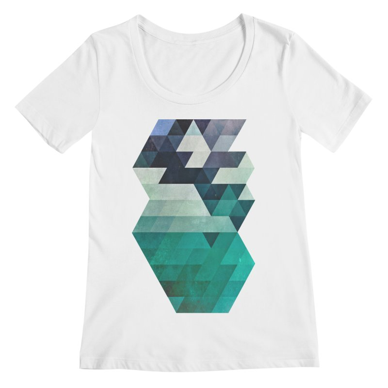 aqww hyx Women's Scoopneck by Spires Artist Shop