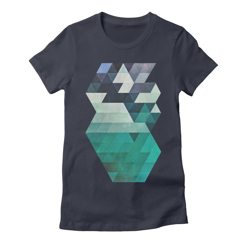 aqww hyx Women's Fitted T-Shirt by Spires Artist Shop