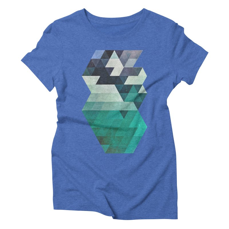aqww hyx Women's Triblend T-shirt by Spires Artist Shop