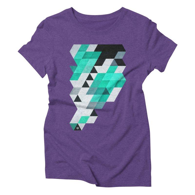Mynt in Women's Triblend T-shirt Tri-Purple by Spires Artist Shop