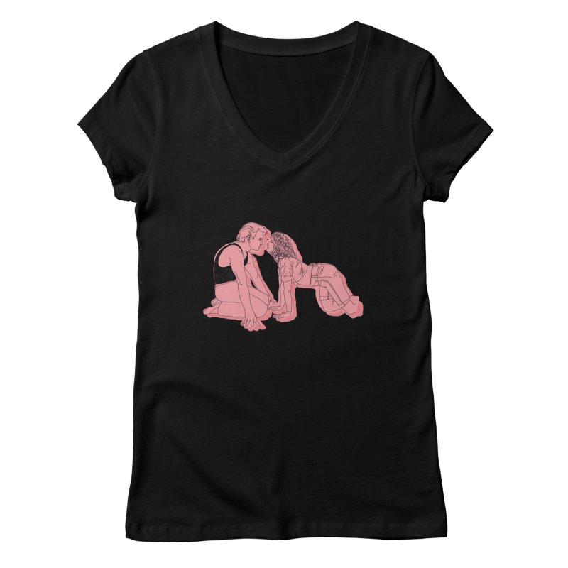 LoverBoy Women's V-Neck by spirit animal