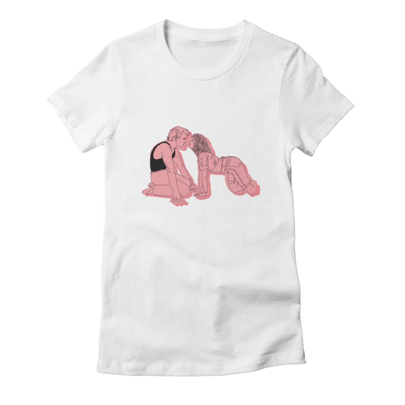 LoverBoy Women's Fitted T-Shirt by spirit animal