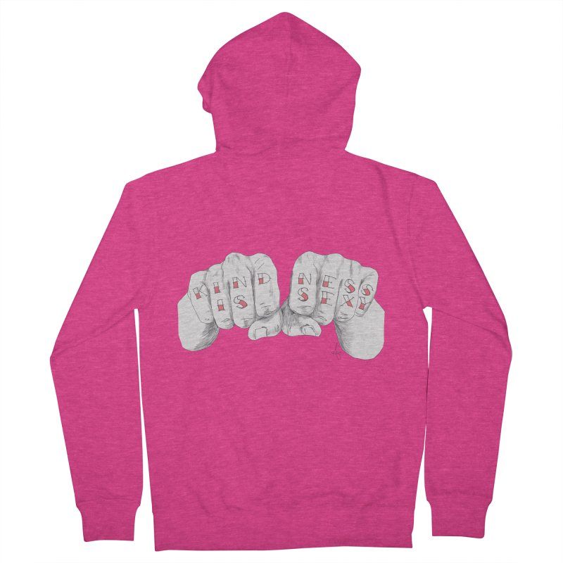 Kindness.is.sexy Women's Zip-Up Hoody by spirit animal