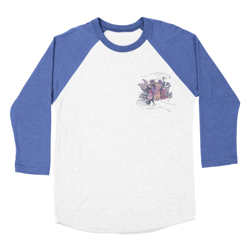Flowa Women's Baseball Triblend T-Shirt by spirit animal