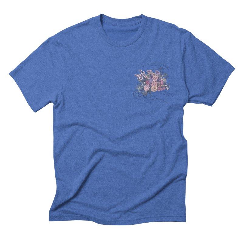 Flowa Men's Triblend T-shirt by spirit animal
