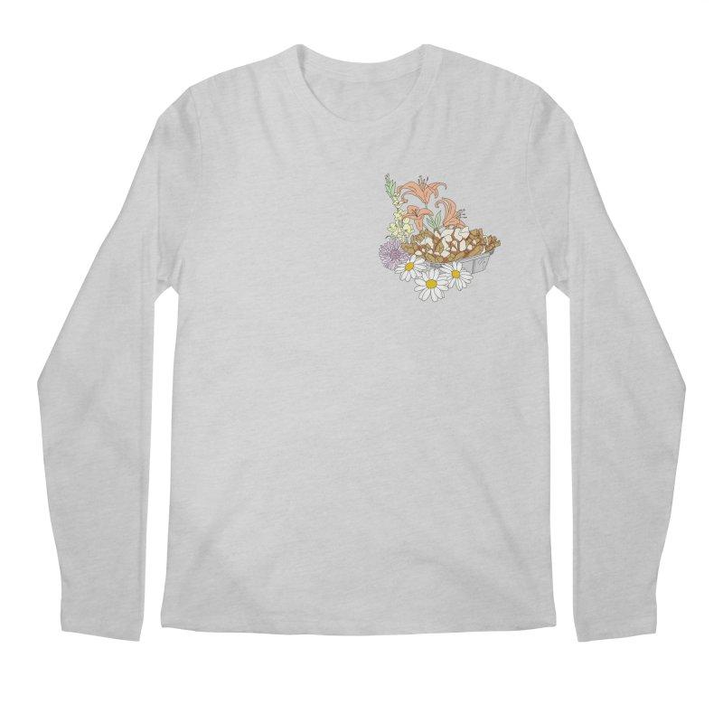 poutine Men's Longsleeve T-Shirt by spirit animal
