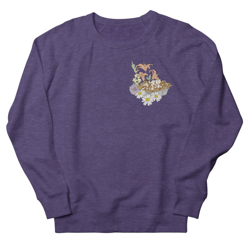 poutine Women's Sweatshirt by spirit animal