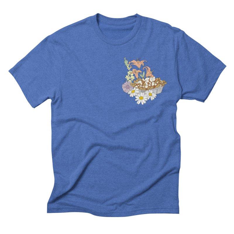 poutine Men's Triblend T-shirt by spirit animal