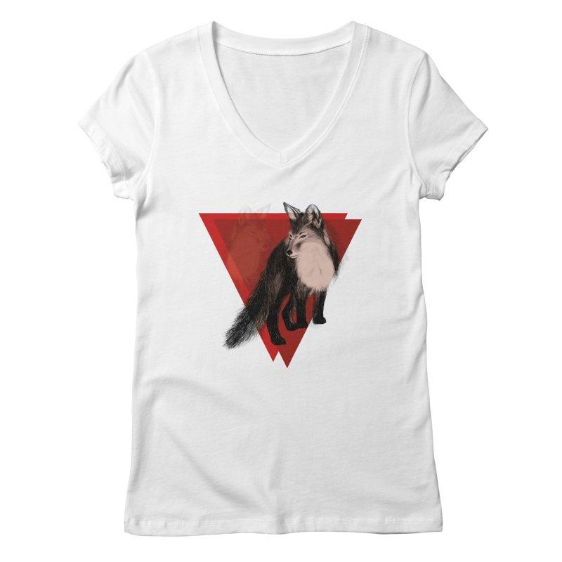 Spirit 0.4 Women's V-Neck by spirit animal