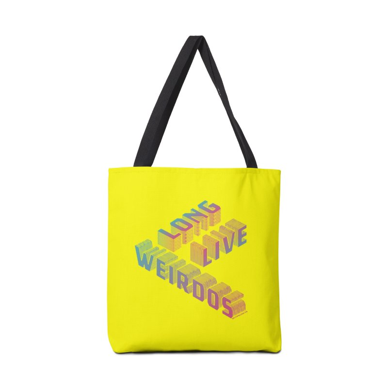 Long Live Weirdos in Tote Bag by SPIT polish New Creative Review
