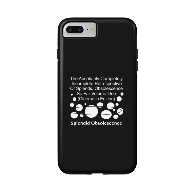 The Absolutely Completely Incomplete Retrospective Of Splendid Obsolescence So Far Vol.1 (Cinematic) Accessories Phone Case by Splendid Obsolescence