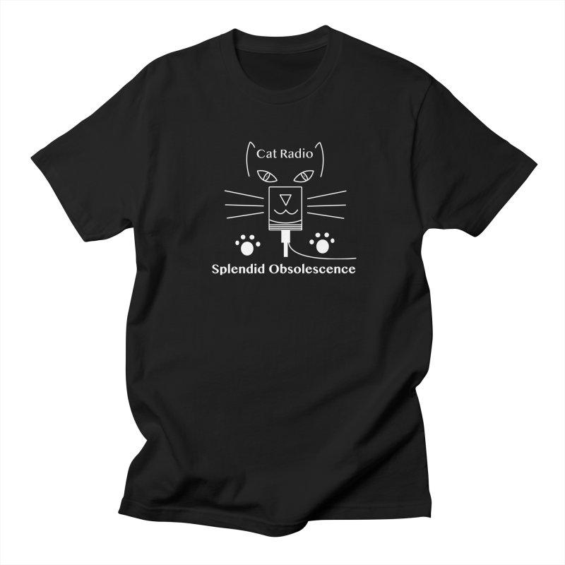 Cat Radio Album Cover - Splendid Obsolescence Women's Regular Unisex T-Shirt by Splendid Obsolescence