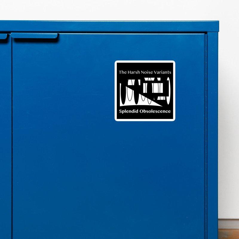 The Harsh Noise Variants Album Cover - Splendid Obsolescence Accessories Magnet by Splendid Obsolescence