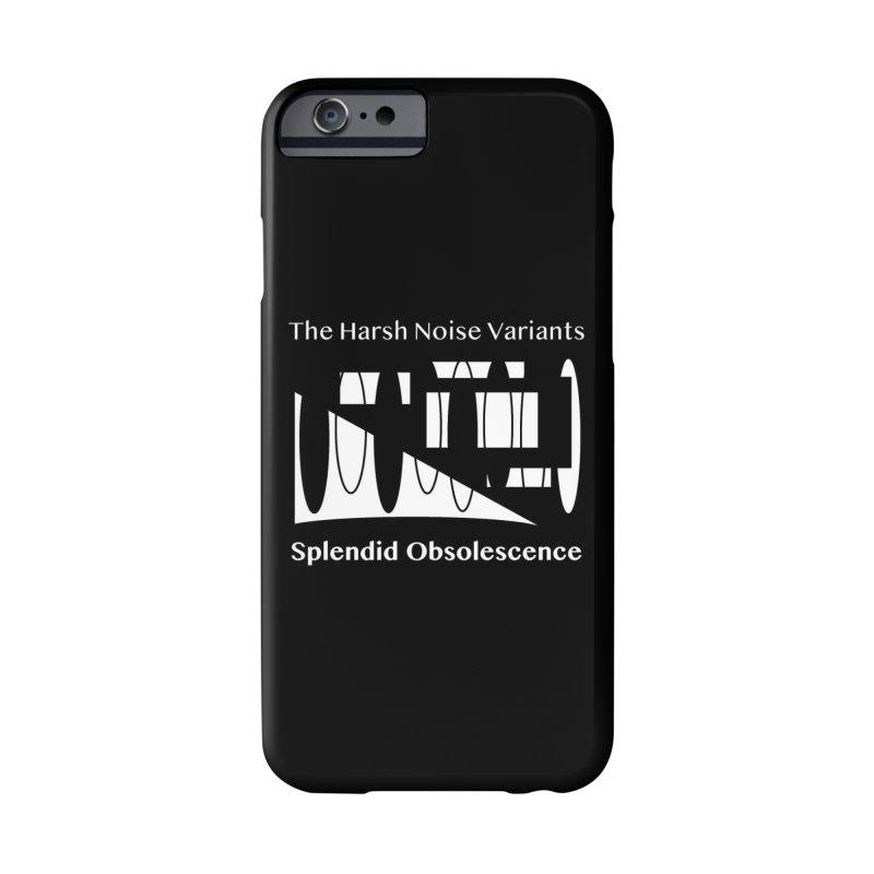 The Harsh Noise Variants Album Cover - Splendid Obsolescence Accessories Phone Case by Splendid Obsolescence