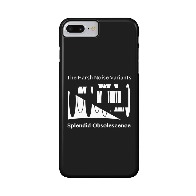The Harsh Noise Variants Album Cover - Splendid Obsolescence Accessories Phone Case by Splendid Obsolescence