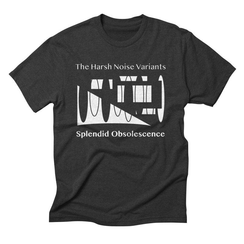 The Harsh Noise Variants Album Cover - Splendid Obsolescence Men's T-Shirt by Splendid Obsolescence